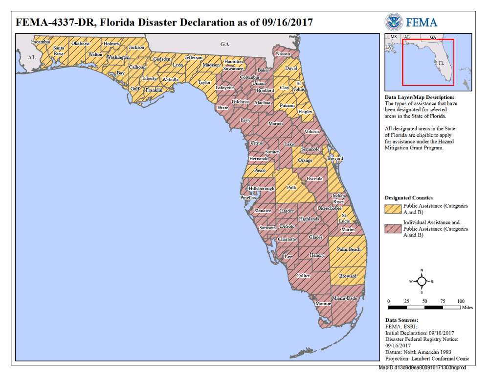 FEMA Map